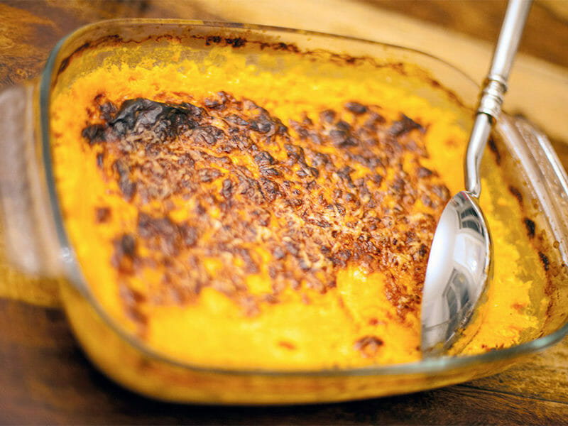 Gratin de courges butternut au Thermomix