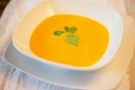 Purée courges et carottes