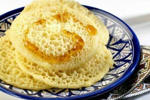 Baghrir (crêpes mille trous)