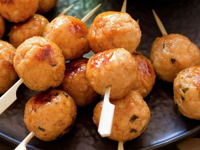 boulettes de poulet au chorizo au thermomix cookomix. Black Bedroom Furniture Sets. Home Design Ideas