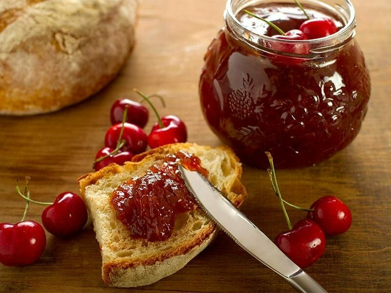 confiture de cerises au thermomix cookomix. Black Bedroom Furniture Sets. Home Design Ideas
