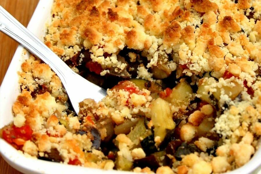 Bien-aimé Crumble aux légumes provençaux au Thermomix - Cookomix AD34