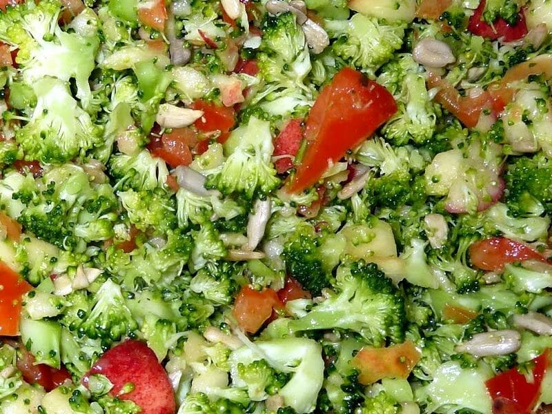 Salade de brocolis au Thermomix