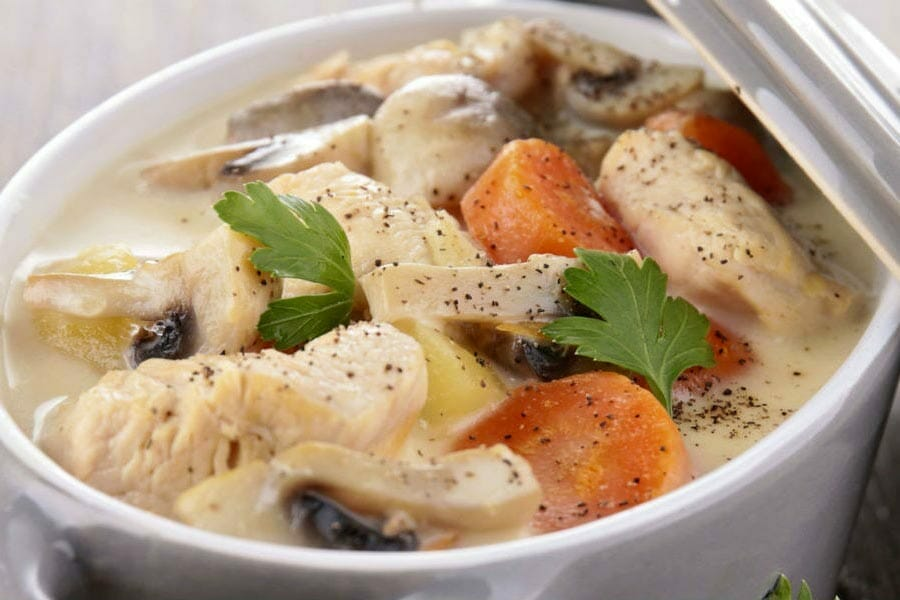 blanquette de veau au thermomix cookomix. Black Bedroom Furniture Sets. Home Design Ideas