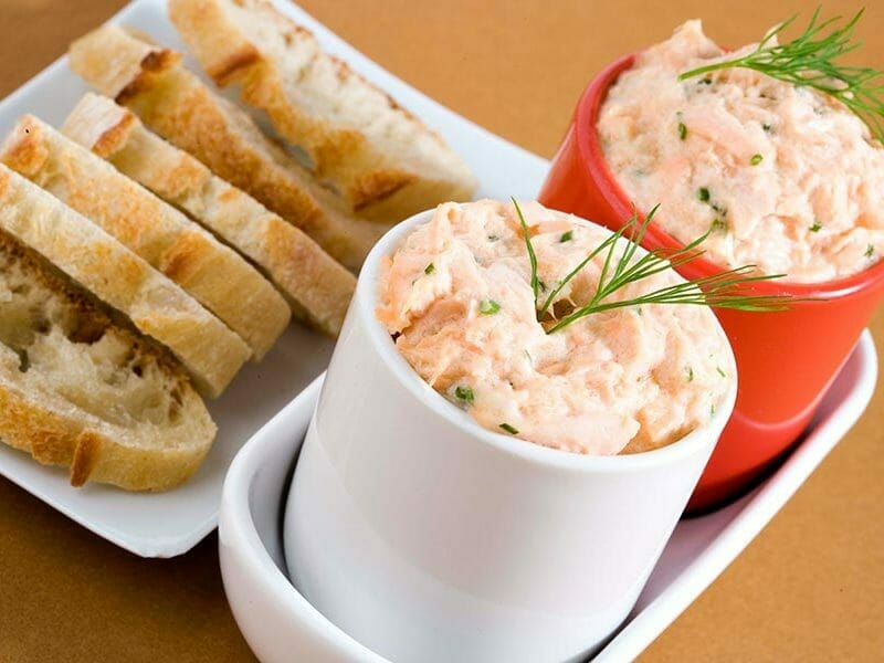Rillettes de saumon au Thermomix