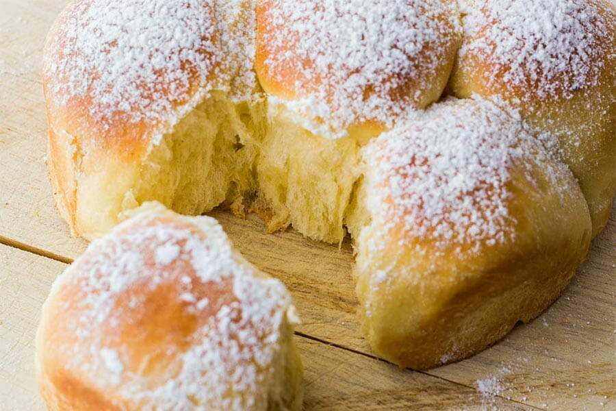 Brioche buchty au thermomix cookomix for Cooking chef vs thermomix