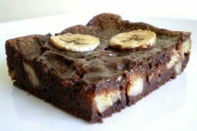 Brownie fondant choco-banane