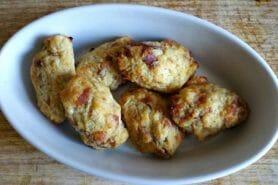 Croquettes de chou-fleur au jambon cru