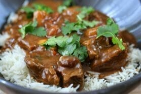 Curry de boeuf au Thermomix