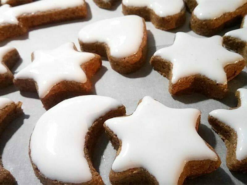 Zimtstern (étoiles de Noël) au Thermomix