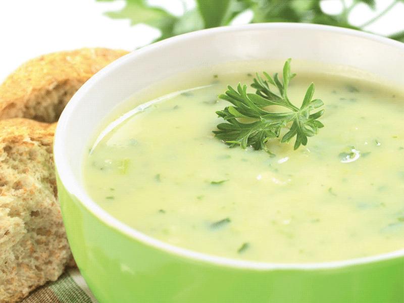 Soupe de poireaux au thermomix cookomix - Soupe de brocolis thermomix ...