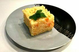 Risotto carottes et saumon fumé