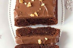 Cake chocolat noisettes fondant