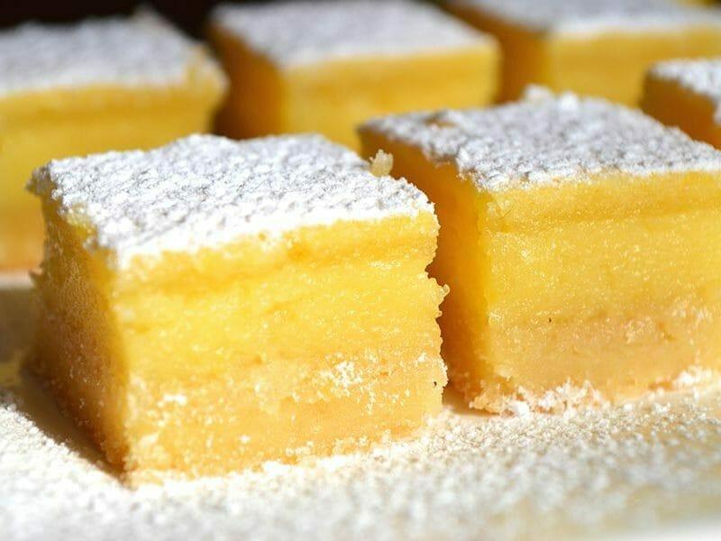 Carr s au citron au thermomix cookomix - Recette dessert rapide thermomix ...