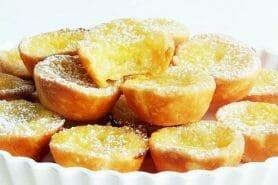 Mini tartelettes au citron