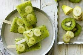 Glace kiwi banane