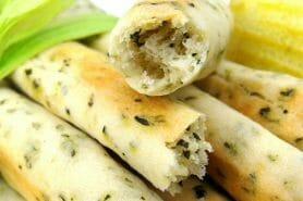 Gressins parmesan basilic