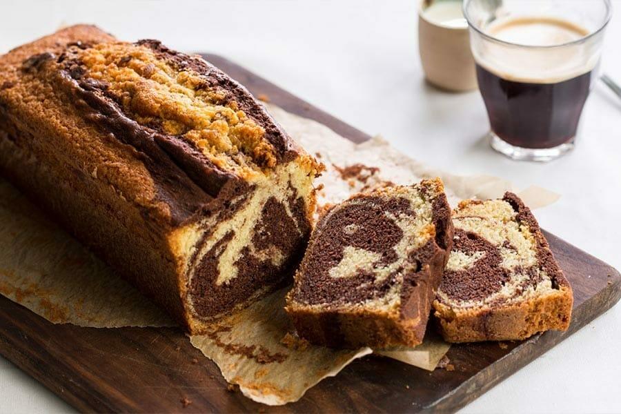 marbré au chocolat au thermomix - cookomix