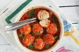 Boulettes de ricotta sauce tomate