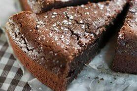 Fondant à la crème de marron et au chocolat au Thermomix