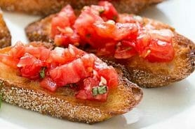 Bruschetta au Thermomix