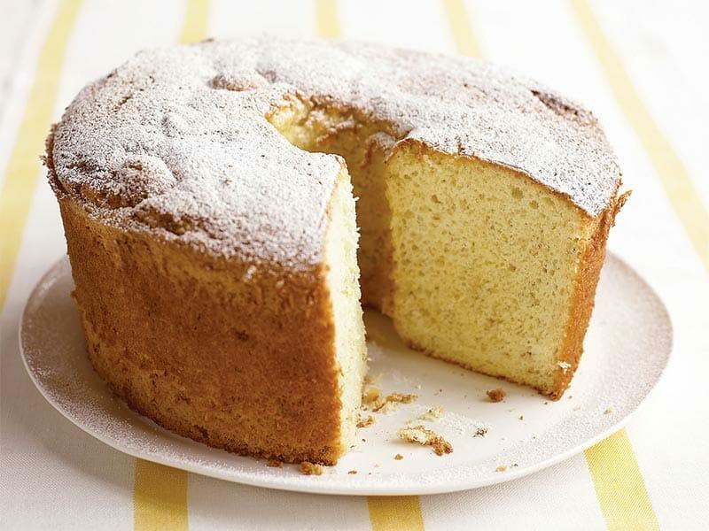 Chiffon cake à l'orange au Thermomix