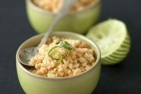 Crumble au citron