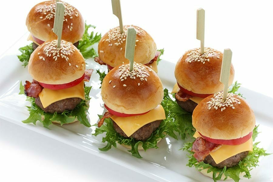Mini burgers au Thermomix