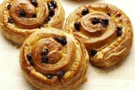 Pains aux raisins au Thermomix
