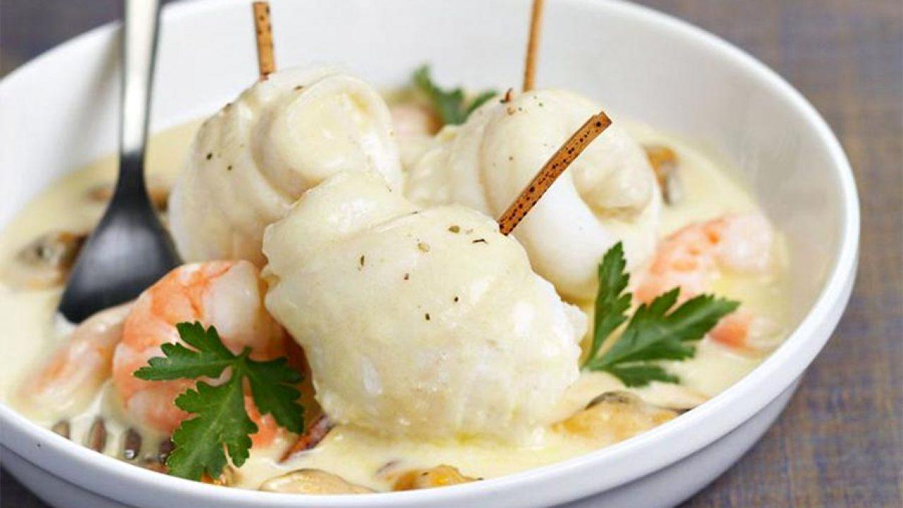 Filets De Sole Aux Crevettes Et Champignons Au Thermomix Cookomix