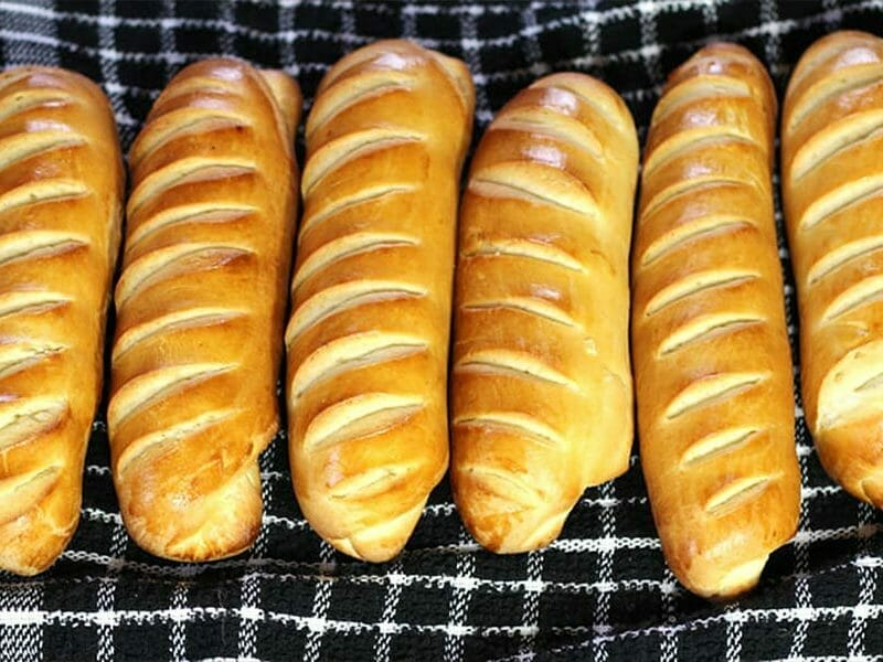 Pain viennois au Thermomix
