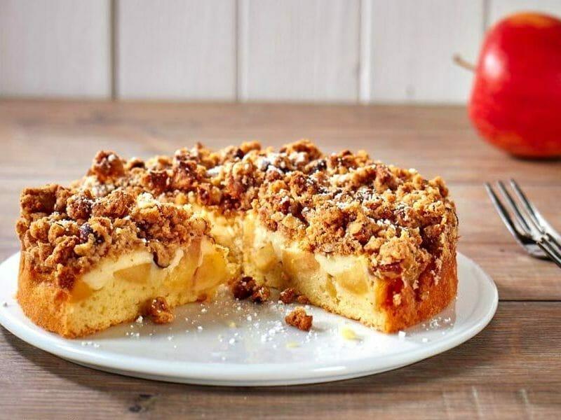 Tarte aux pommes fa on crumble blogs de cuisine - Gateau au chocolat thermomix tm5 ...