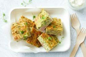 Zucchini slice – Pain de courgettes australien