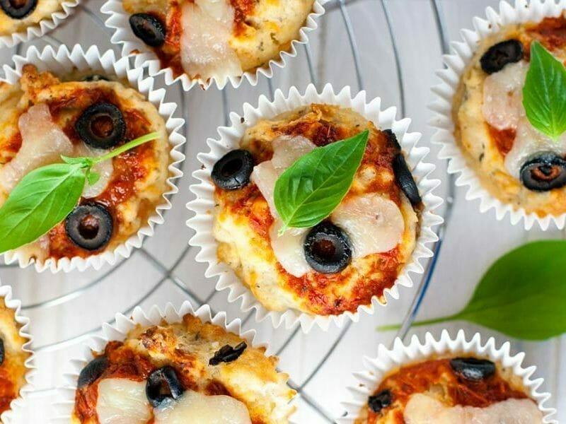 Muffins salés façon pizza au Thermomix