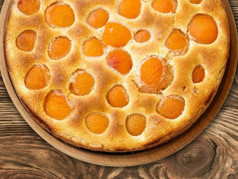 tarte amandine aux abricots au thermomix cookomix. Black Bedroom Furniture Sets. Home Design Ideas
