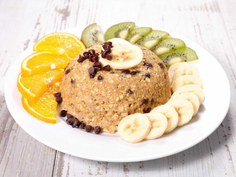 Bowl cake banane et pépites de chocolat au Thermomix