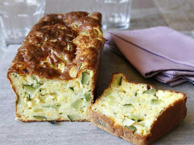 Cake courgettes et cheddar au Thermomix