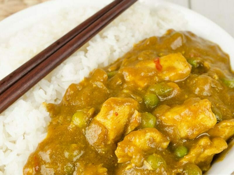 Poulet Thaï au curry au Thermomix