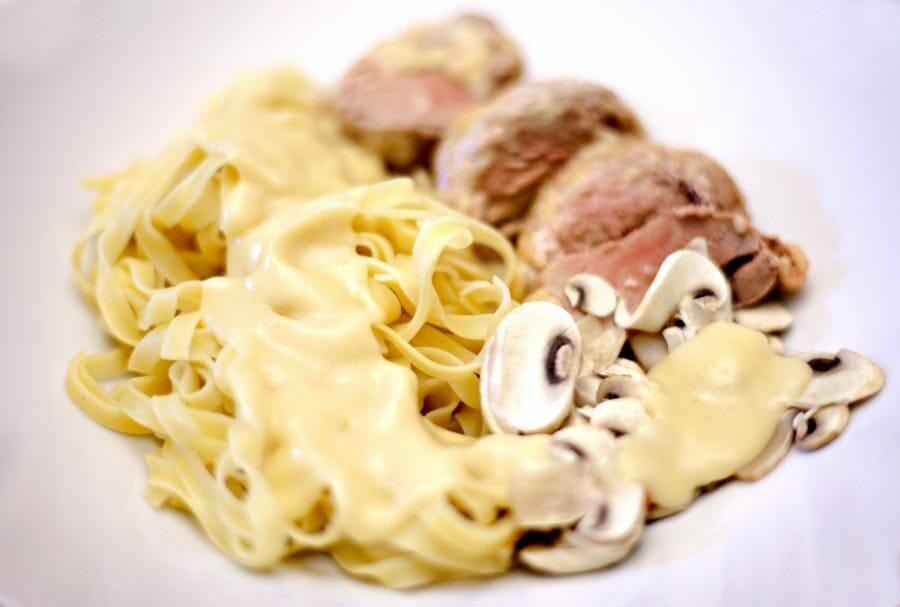 Recette Filet mignon de porc au maroilles | 750g