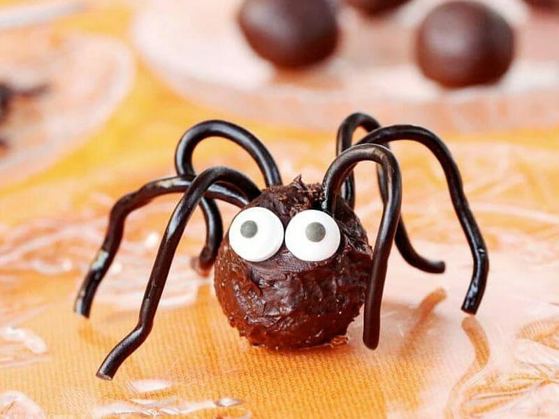 Truffes araignées au Thermomix