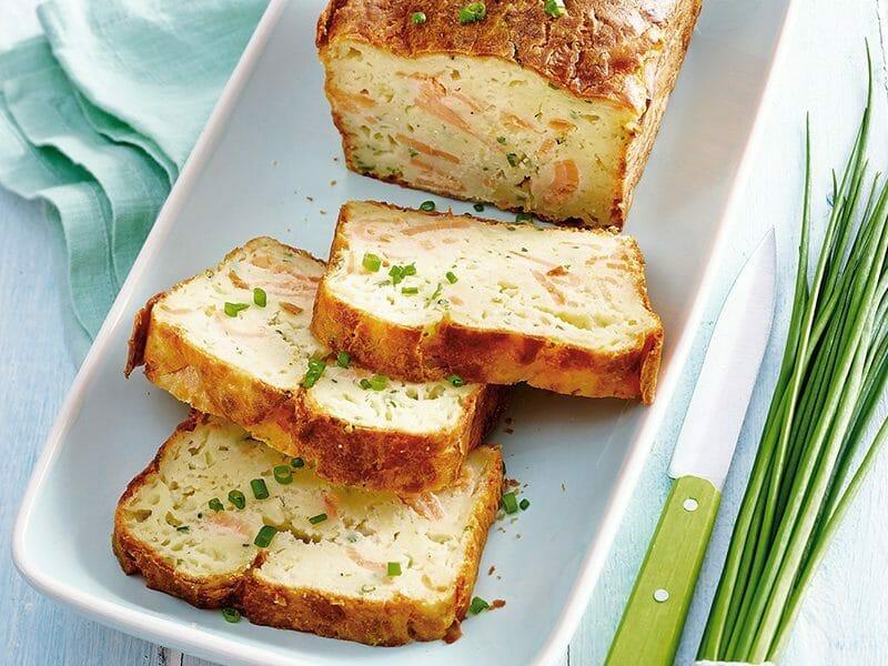 Cake au saumon au Thermomix