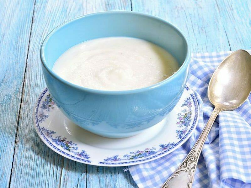 Semoule au lait au Thermomix