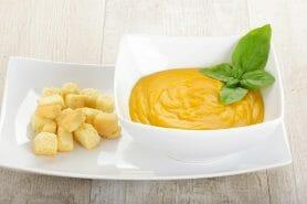 Velouté céleri, carottes et coco au Thermomix