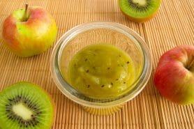 Confiture de kiwis aux pommes