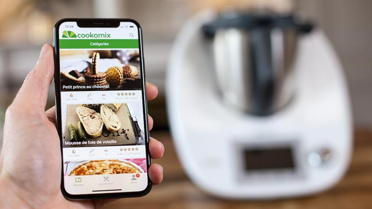 Comment Utiliser Le Thermomix l'application cookomix - une application thermomix de