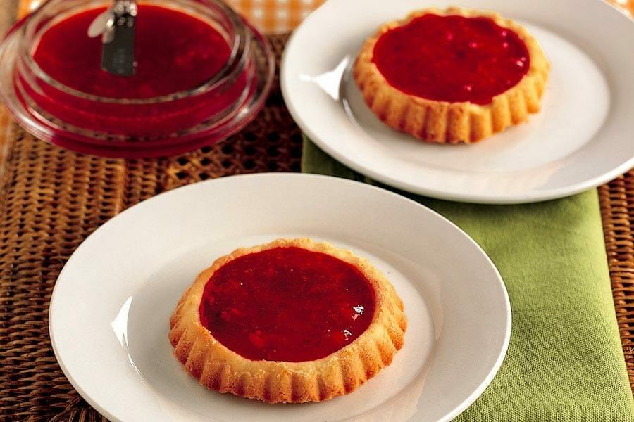 Mini tartelettes aux fraises
