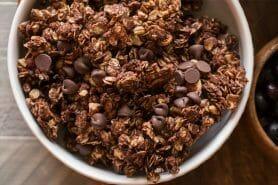 Granola au chocolat