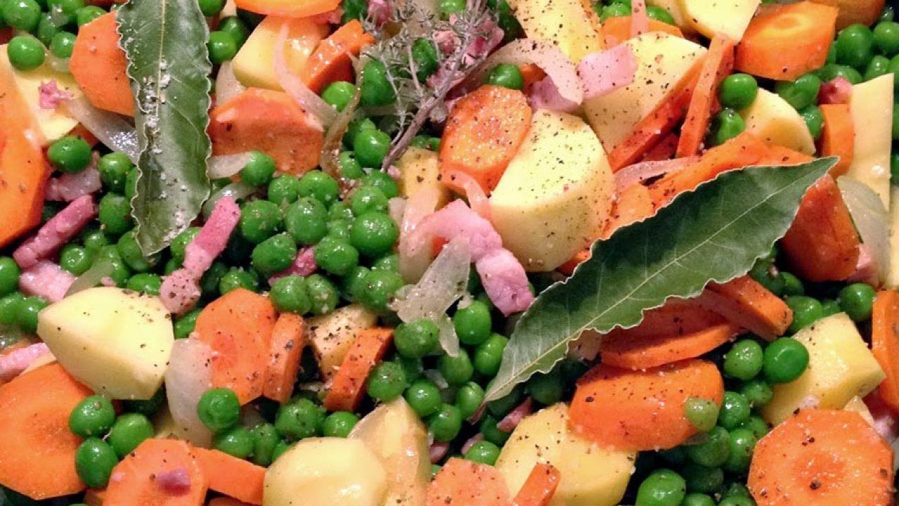 Legumes A Mettre Dans Le Jardin jardinière de légumes aux lardons au thermomix