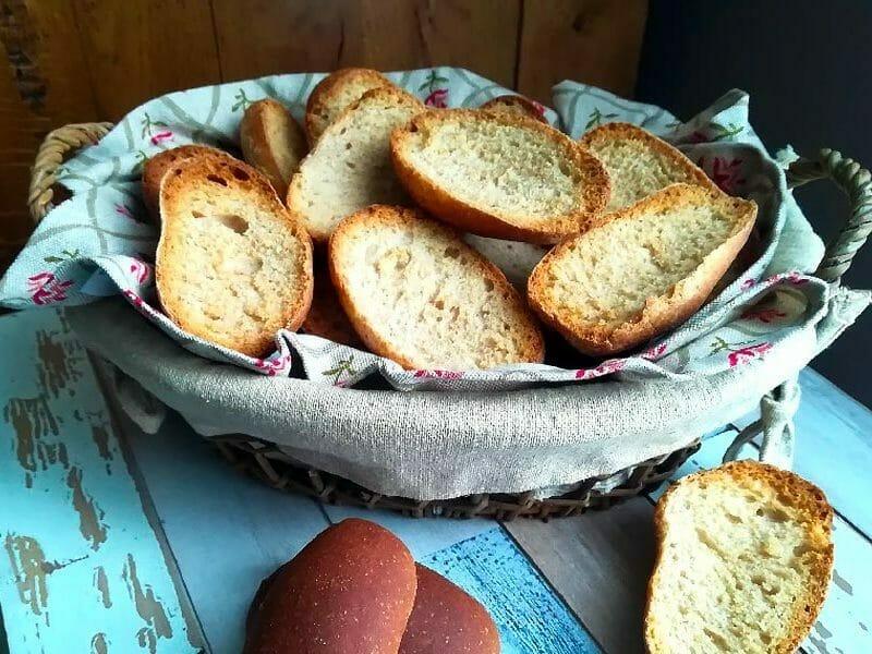Petits pains grillés au Thermomix