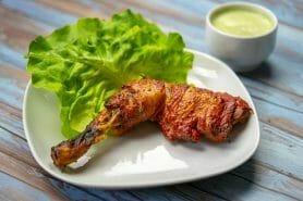 Poulet tandoori et sauce raïta